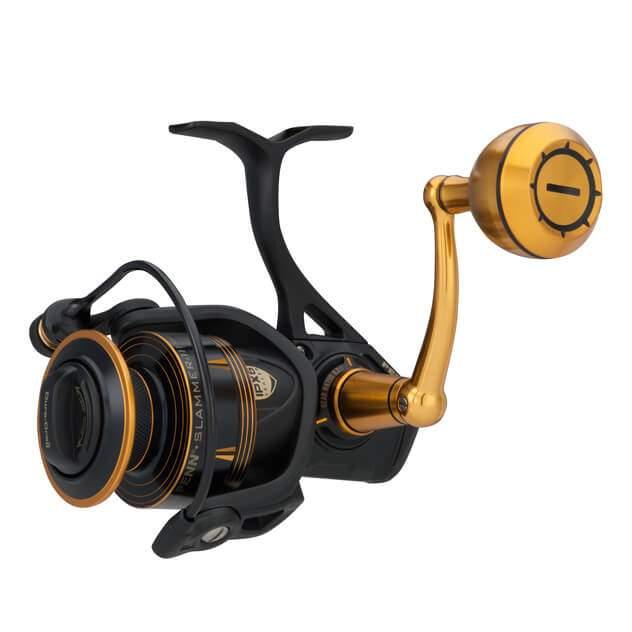 Катушка PENN Slammer III 6500 6+1 275m/0.38mm 5.6:1 106.6cm 689g