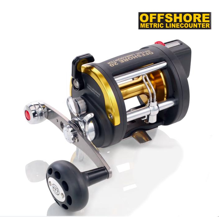 Катушка мультипликаторная WFT Offshore LW LС 30 RH с счетчиком