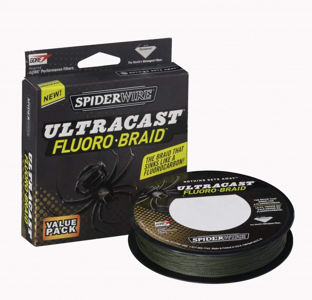 Шнур Spider Wire Ultracast Fluorobraid Green 110M