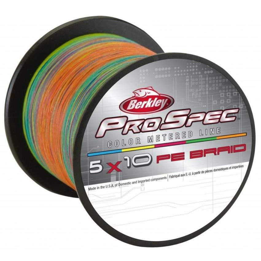 Шнур Berkley Pro Spec 5×10 PE BRAID 450m 0,38mm 51.9kg