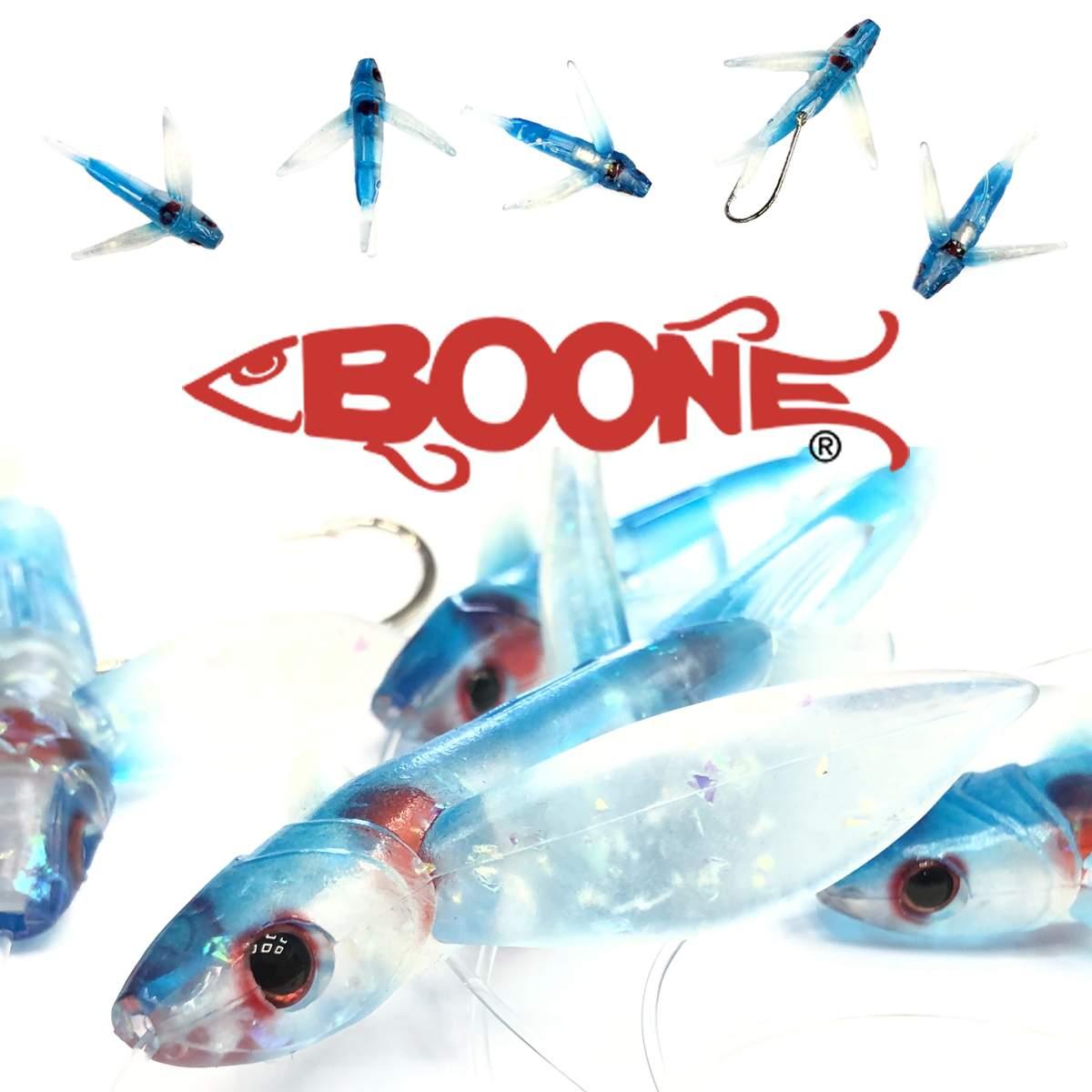 Набор летучих рыб Boone Flying Bird Daisy 4 inch 6/0 -200 lb