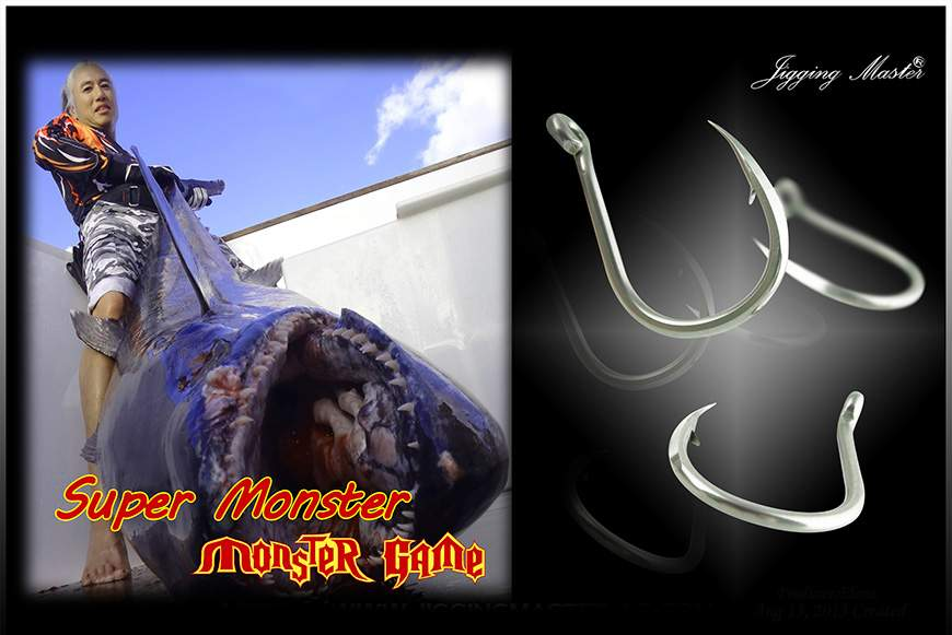 Крючок Jigging Master Super PE Monster hook